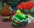 The icon of the Koopa Troopa Cup's challenge from Mario Kart Tour.