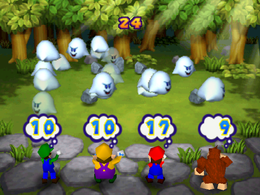 There are 17 Boos in Roll Call from Mario Party 2
