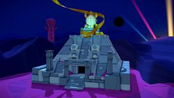 The Temple of Shrooms in Paper Mario: The Origami King