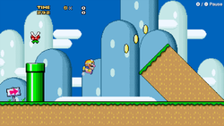 Super Mario World (WarioWare: Get It Together!)