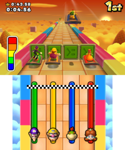 Blown Hover in the game Mario Party: Island Tour