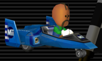 Blue Falcon from Mario Kart Wii