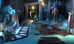 The Cinder Mine segment from Luigi's Mansion: Dark Moon.