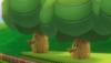 A Delfino Oak Tree from Mario Kart Wii