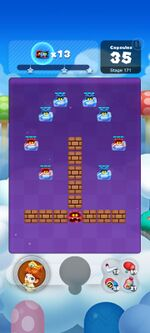 Stage 171 from Dr. Mario World since March 18, 2021
