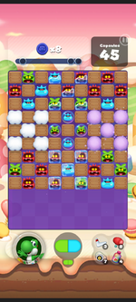 Stage 477 from Dr. Mario World