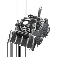 Black Dozer from Mario Kart Tour
