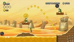 A screenshot of New Super Luigi U
