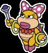 Wendy O. Koopa in Paper Mario: Color Splash.