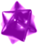 Artwork of a purple Star Bit from Super Mario Galaxy