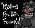 WWSM Wario - Mysterious Form Baton Found.png