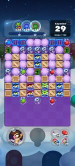 Stage 1180 from Dr. Mario World