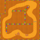 MKSC SNES Choco Island 1 Map.png