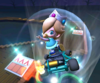 The icon of the Baby Rosalina Cup challenge from the Vancouver Tour and the Larry Cup challenge from the Frost Tour in Mario Kart Tour