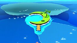 Crescent Moon Island in Paper Mario: The Origami King