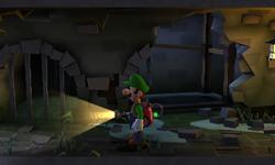 The Sewer segment from Luigi's Mansion: Dark Moon.