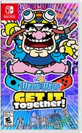 North American box art for WarioWare: Get It Together!