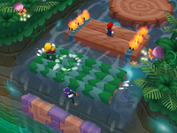 Daft Rafts at night from Mario Party 6
