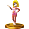 Candy Kong trophy from Super Smash Bros. for Wii U
