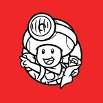 The icon for Colour In Captain Toad from Nintendo Kids Club