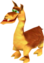 The Llama, from Donkey Kong 64 (to replace the previous Llama picture)