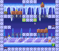 Level 4-6 map in the game Mario & Wario.