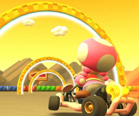 The icon of the Ludwig Cup challenge from the Cooking Tour in Mario Kart Tour