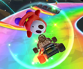 The icon of the Bowser Jr. Cup challenge from the Summer Festival Tour of Mario Kart Tour