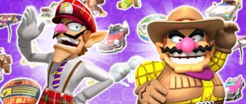 The Mario vs. Luigi Pipe 2 from the Mario vs. Luigi Tour in Mario Kart Tour