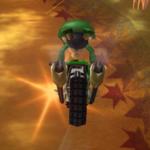 Baby Luigi performing a Trick