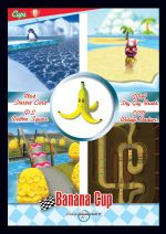 The Lightning Cup card from the Mario Kart Wii trading cards