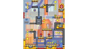 Miiverse screenshot of the 38th official level in the online community of Mario vs. Donkey Kong: Tipping Stars
