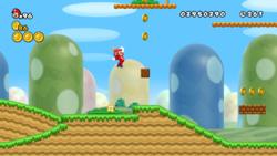 Mario in World 1-1