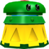 A Jump Guarder's model from Super Mario Galaxy