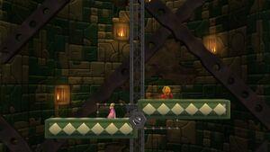 The Tower variant of Mushroom Kingdom U from Super Smash Bros. for Wii U.