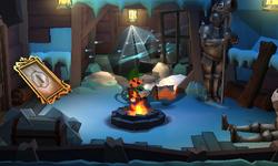The Smuggler's Hideout segment from Luigi's Mansion: Dark Moon.