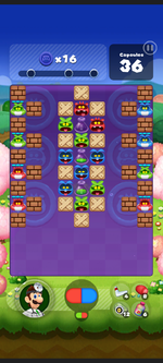 Stage 482 from Dr. Mario World