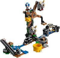 "LEGO Super Mario ""Reznor Knockdown"" set"