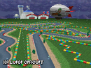 Screenshot of <small>GBA</small> Luigi Circuit