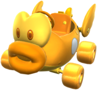 Gold Cheep Charger from Mario Kart Tour