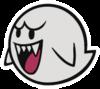 Boo sprite from Paper Mario: Color Splash