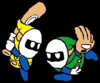 Slugger & Green Glove spirit from Super Smash Bros. Ultimate.