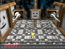 A Terrible Portrait with Wario in Mirror Mansion of Wario World.