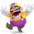 Wario's yellow and purple overalls costume from Super Smash Bros. Ultimate