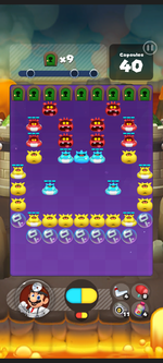 Stage 438 from Dr. Mario World