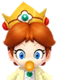 Sprite of Dr. Baby Daisy from Dr. Mario World