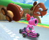 The Birdo Cup Challenge from the New Year's Tour of Mario Kart Tour