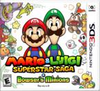 North American box art of Mario & Luigi: Superstar Saga + Bowser's Minions