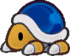 Buzzy Beetle from Paper Mario: The Thousand-Year Door.