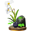 Rock Pikmin trophy from Super Smash Bros. for Wii U